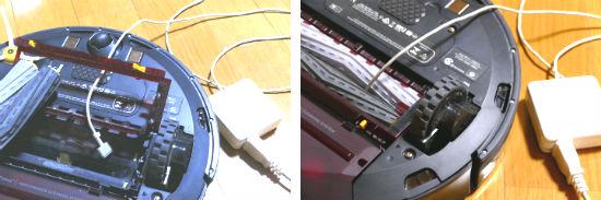 ルンバ・Macのケーブル
