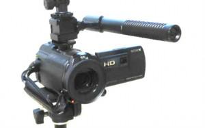 HDR-PJ630Vとマイク